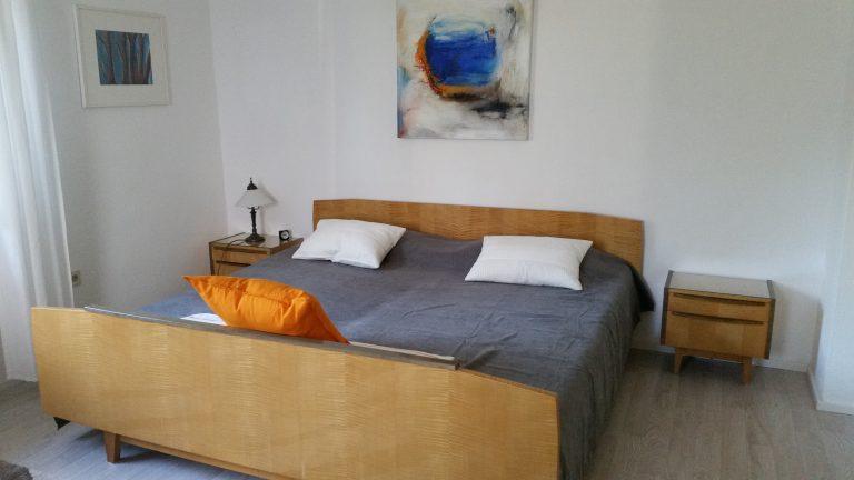 Fewo Wohn- und Schlafzimmer